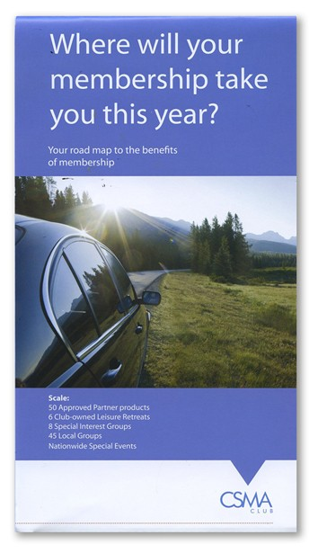 member brochure, road map