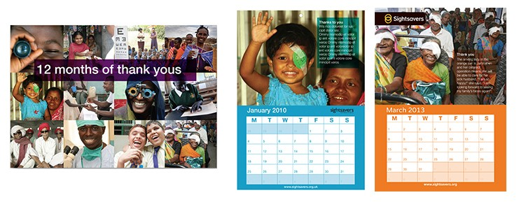 Sightsavers campaign. ROI. fundraising. Not for Profits